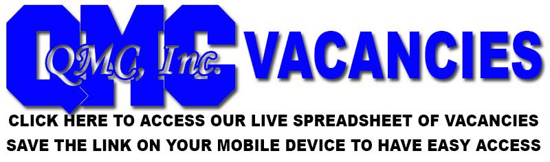 QMC Vacancies